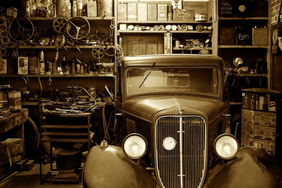 réparer porte de garage