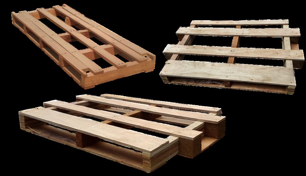 palettes pour bricolage avec du bois