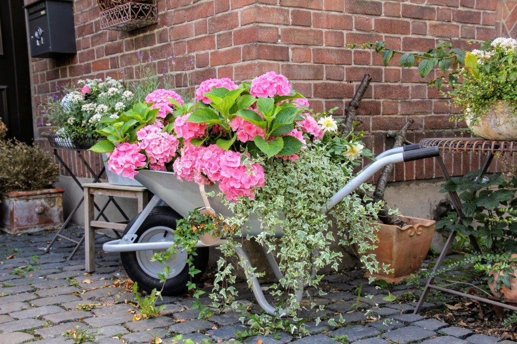Idées déco de jardin avec des matériaux récupérés