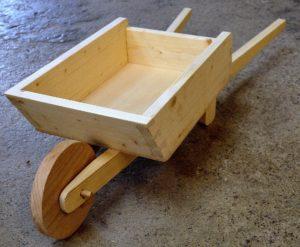 fabriquer brouette bois
