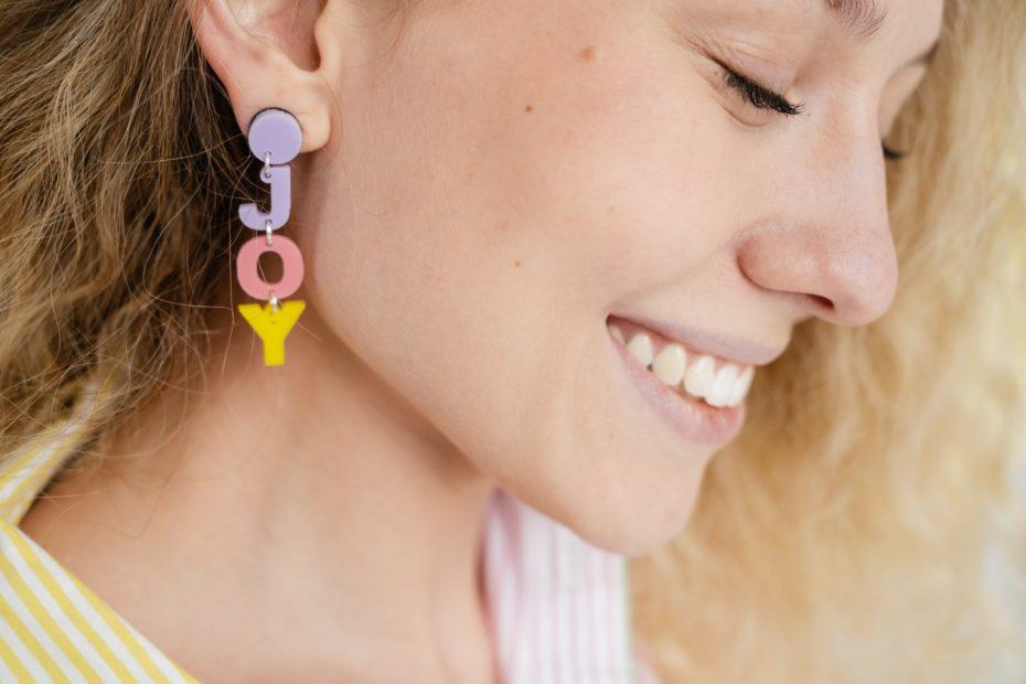 boucles d'oreilles DIY
