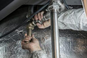 réparer tuyau bouché
