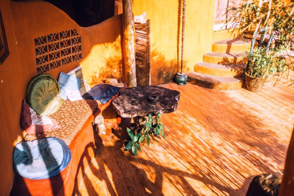 Tuto : fabriquer un salon de jardin en pierre
